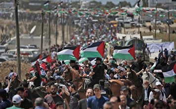 Palestinians in the Gaza Strip opposing deal